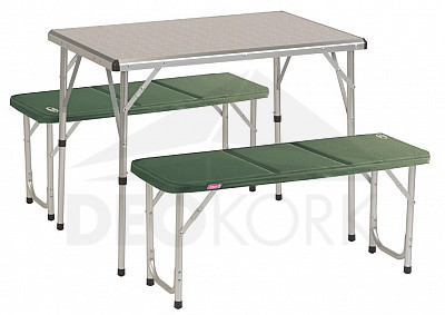 COLEMAN Kempingový set PACK-AWAY TABLE FOR 4